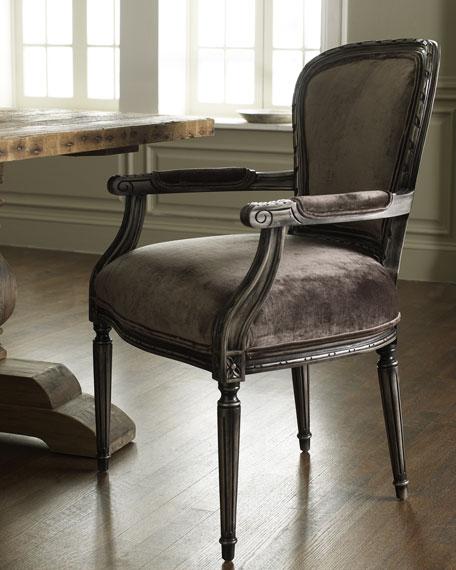 """""""Missy"""" Velvet Armchair"""