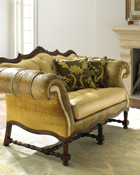 """""""Griffin"""" Settee"""