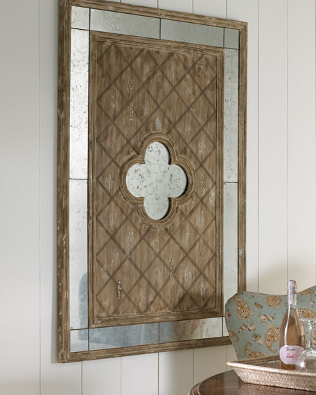 Rustic Lattice Wall Decor