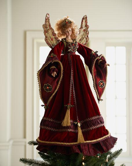 """Vieux Monde"" Angel Treetopper"