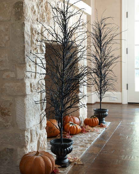Black Halloween Tree