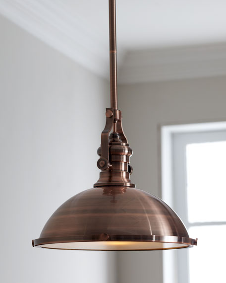 """Industrial"" Pendant Light"