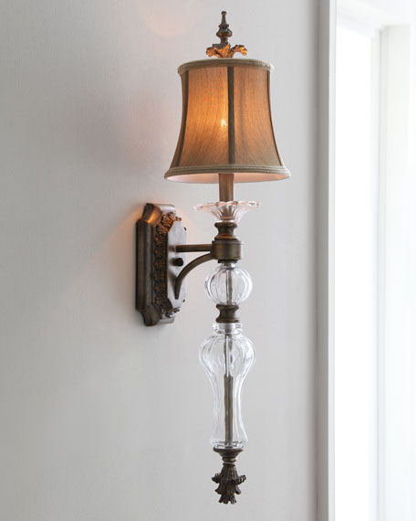 Golden Shade Sconce