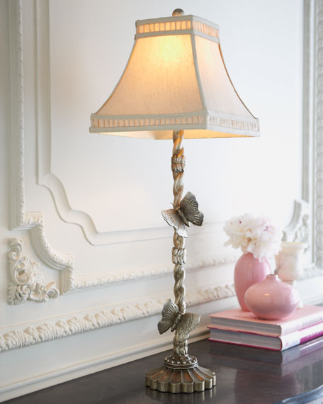 """Butterfly Paradise"" Lamp"