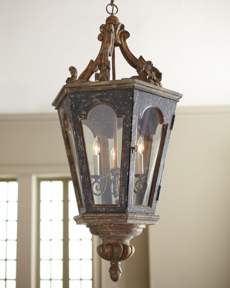 """French Lantern"" Pendant Light"