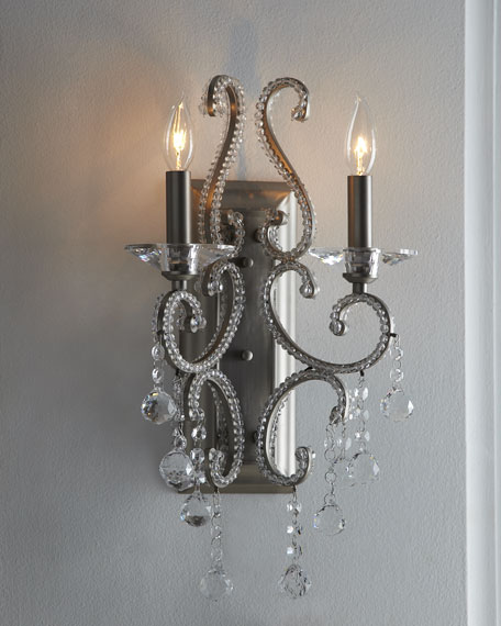 """Crystal Statement"" Sconce"