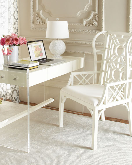 furniture lucite the suitable small modern desk most new