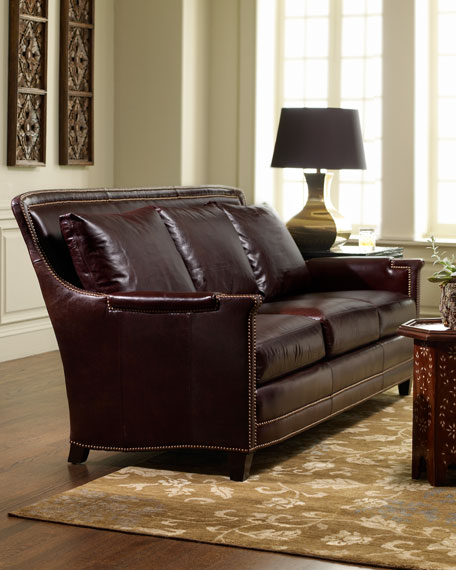 Ferguson Copeland Ltd Justin Leather Sofa, Ferguson Copeland Furniture