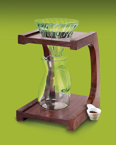 Pour Over Coffee Maker Stand : Pour-Over Coffee Maker/Stand