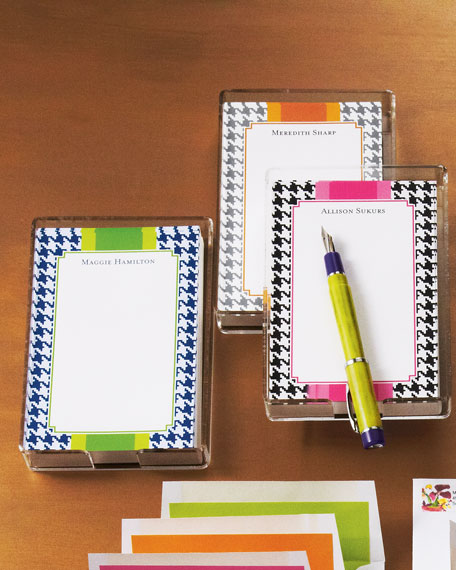 Houndstooth Note Sheets