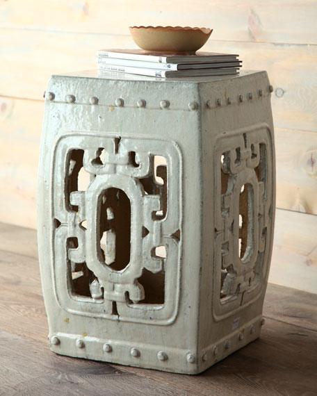 Antique Ceramic Garden Seat