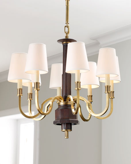 Visual comfort modern library chandelier aloadofball Choice Image