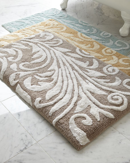 """Bedminster Scroll"" Bath Rug"