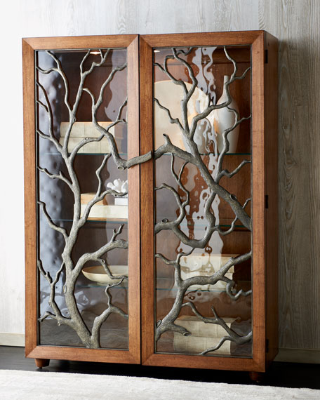Quot Tree Branch Quot Display Cabinet