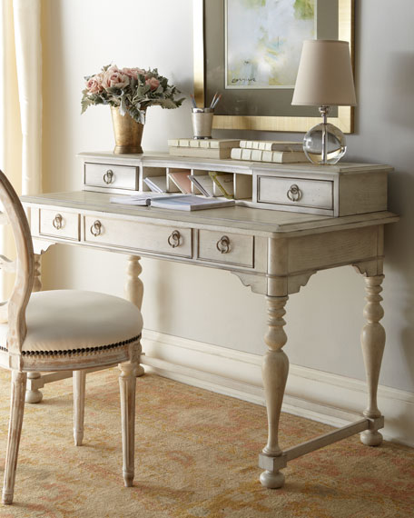 """""""Emeline"""" Desk and Hutch"""