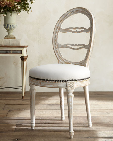 Tara Shaw Swedish Side Chair