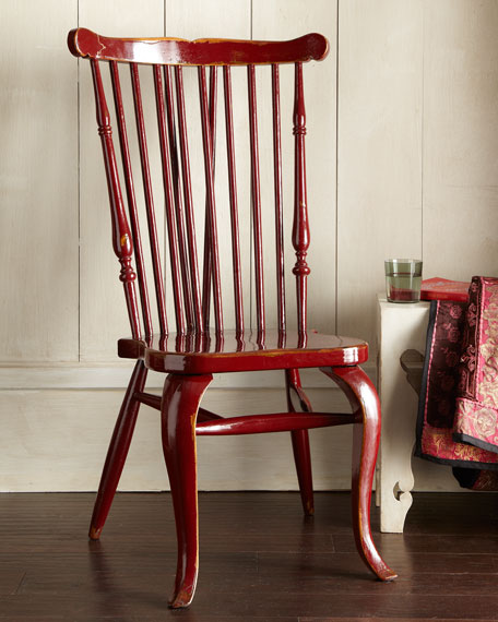 """Afton"" Spindle-Back Chair"