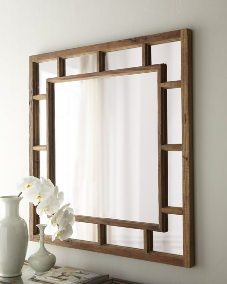 """Windowpane"" Mirror"
