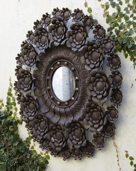 Spanish Floral Mirror