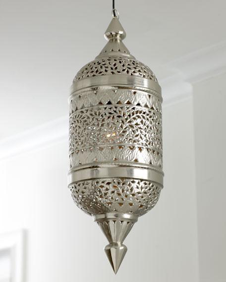 Pierced Silver Lantern