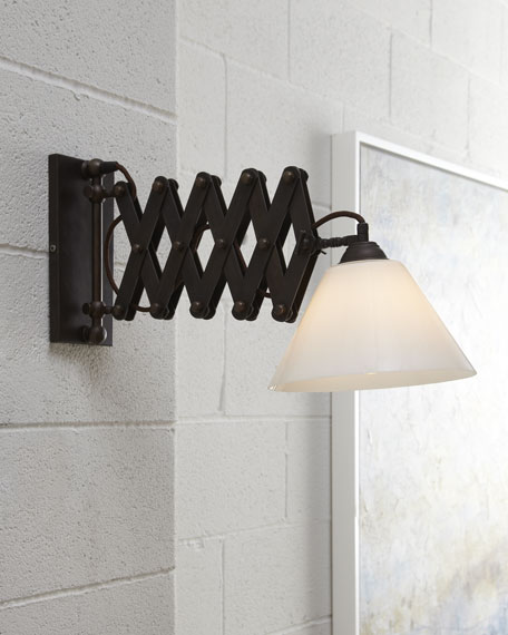 Crank Wall Sconce
