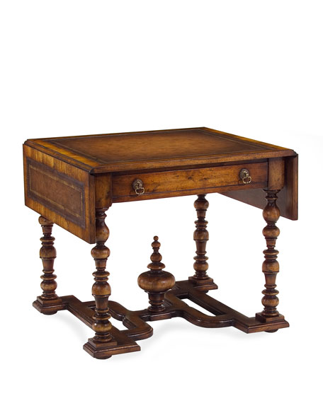 """William & Mary"" Drop-Leaf Side Table"
