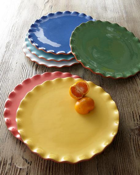 """Ruffle"" Dessert Plates"