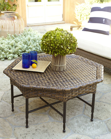 Wicker Outdoor Coffee Table