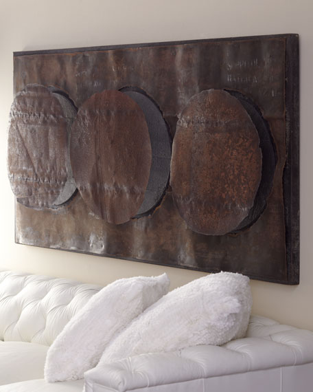 """Triple Circle"" Wall Decor"