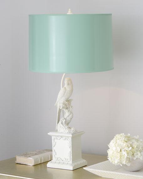 """""""White Parrot"""" Lamp"""