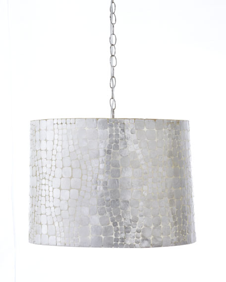 """Crocodile Shade"" Chandelier"