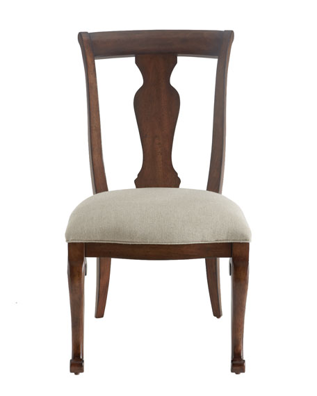 "Two ""Lucille"" Side Chairs"
