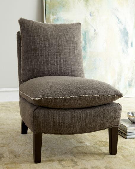 """Amber"" Slipper Chair"
