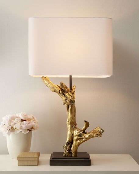 """Golden Branch"" Lamp"