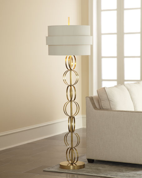 """Circular Motion"" Floor Lamp"