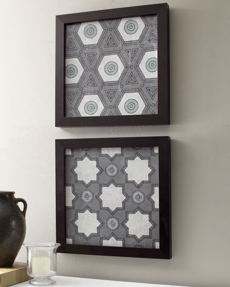 Gray Lattice Prints