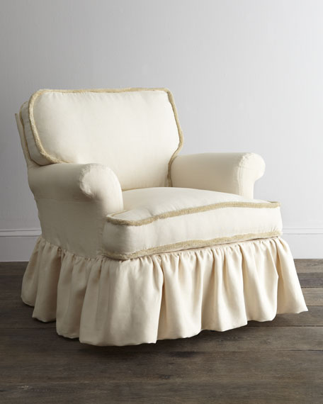 """Waldwick"" Eggshell Chair"
