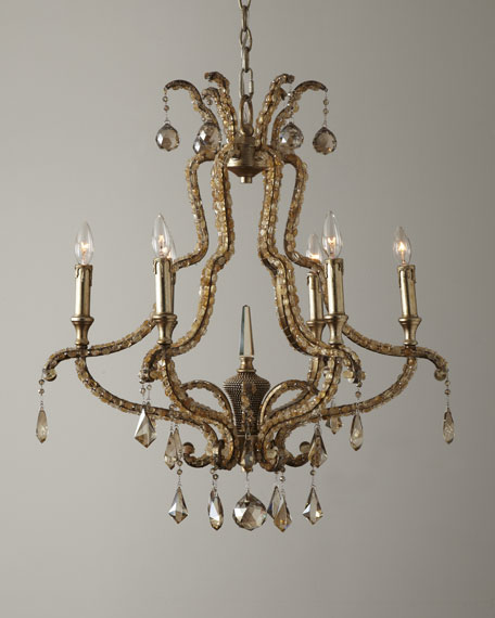 Ornate Droplet Chandelier