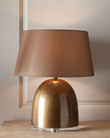 """Gold Dome"" Lamp"