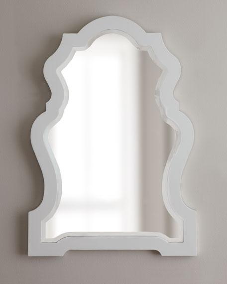 white framed mirror - White Framed Mirror