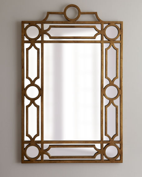 "Golden ""Pagoda"" Mirror"