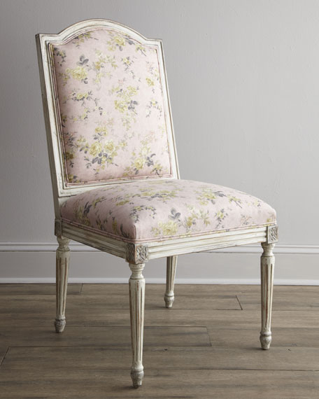 """""""Antique Rose"""" Side Chair"""