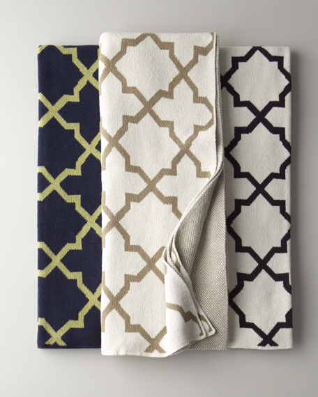 """Morocco Tile"" Throws"