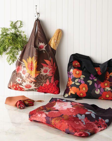 "Five ""Bloom"" Shopping Tote Bags"