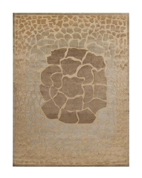 """Mugal Mosaic"" Rug, 8' x 11'"
