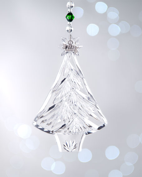 "Annual ""Christmas Tree"" Christmas Ornament"