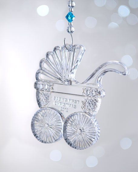 """""""Baby's First Christmas"""" Ornament"""
