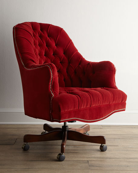 Salsa Red Office Chair
