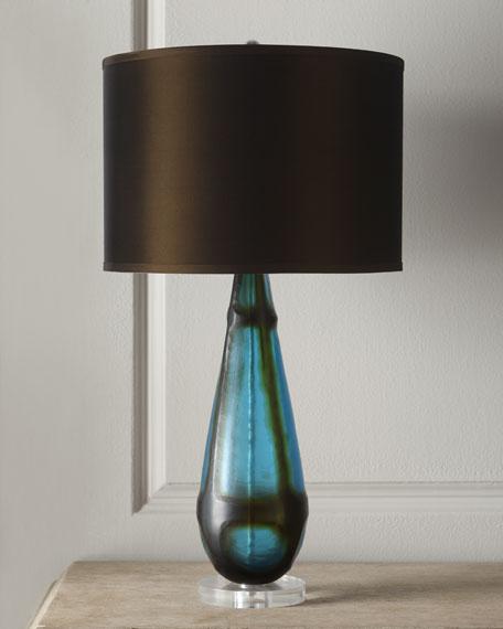 """""""Tie Dye"""" Lamp"""