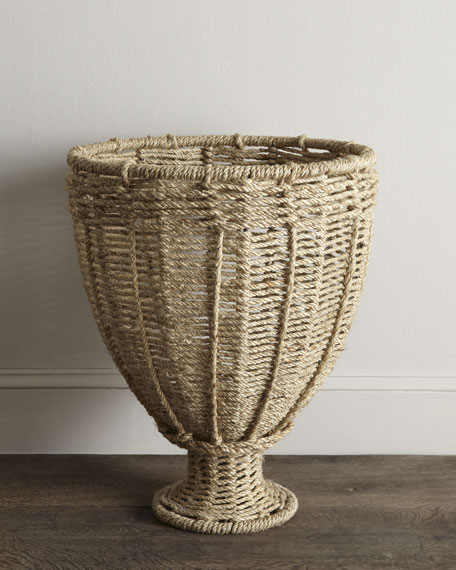 Urn-Shaped Basket
